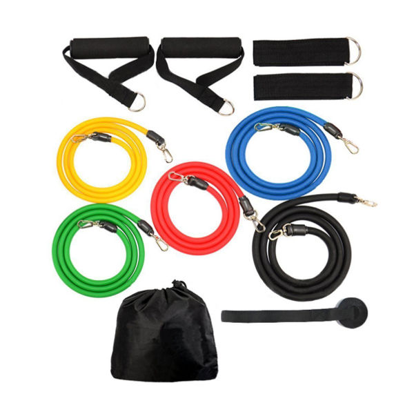 5 Band Exercise Package with Case and Accessories