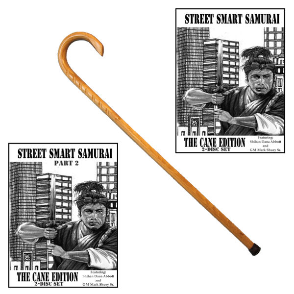 Street Smart Samurai Cane Combat Package