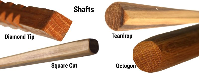 Cane Masters Cane Options - Shaft Shapes