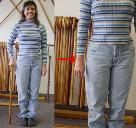 Sizing Your Cane